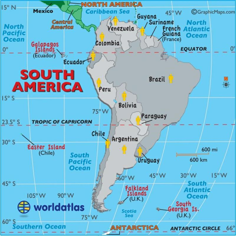 Kwps team around the world map of countries in the south american region whom have visited the key west paranormal society gumiabroncs Image collections