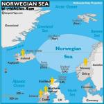 Map of Countries in the European / Norwegian Sea Region whom have visited the Key West Paranormal Society