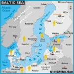 Map of Countries in the European / Baltic Sea Region whom have visited the Key West Paranormal Society