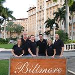 Key West Paranormal Society  touring the Biltmore Hotel in Coral Gables, Florida in November, 2013 (Photo Left to Right: Tami Beckel, Wayne Carter, Mike Klarich, Vinnie Piraino, Peggy Vetrano, and Adam Levine)
