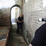 Key West Paranormal Society holding an EVP Session at Fort Zachary Taylor in Key West, Florida in April, 2012