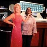 KWPS Client Care Manager Jacquie Velazquez on the set of Wheel of Fortune.